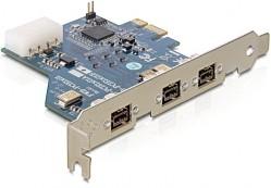 Delock PCI Express Card>3xFireWire B