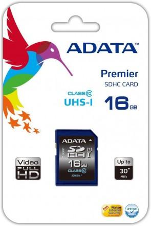 ADATA 16GB SDHC Class 10