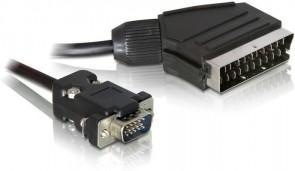 Delock Scart output>VGA input 2m