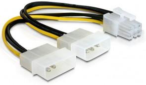 Delock Power Cable PCI-E Card-0.15m