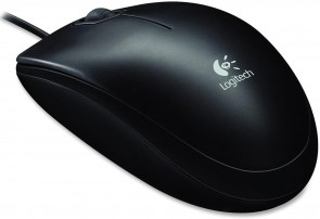 Logitech B100, Corded optical mouse