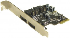ST Labs PCI Express 1X Serial ATA II