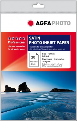 AgfaPhoto Satin Photo Inkjet Paper