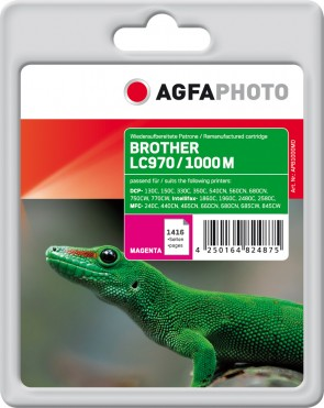 AgfaPhoto Ink M,  rpl LC970M,LC1000M