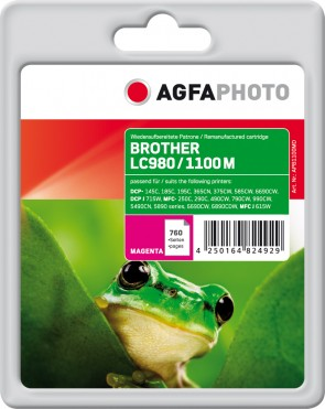 AgfaPhoto Ink M, rpl LC980M, LC1100M