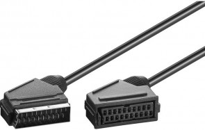 MicroConnect Scart - Scart 2m male - female