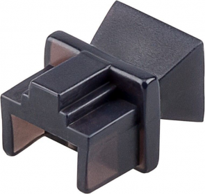 MicroConnect Dust cover for RJ45 port, blac