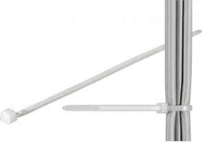 MicroConnect Cable tie 100pcs, transperant