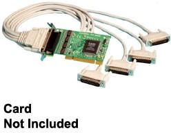 Brainboxes Quad Cable 44 Way D