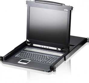 "Aten 8 Port KVM with 17"" LCD"
