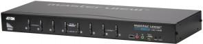 Aten 8 port USB  DVI-I KVM + Audio