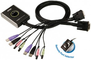 Aten CS682 2-Port Cable KVM Switch