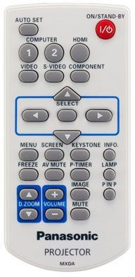 Panasonic Remote Control PT-VW330EJ