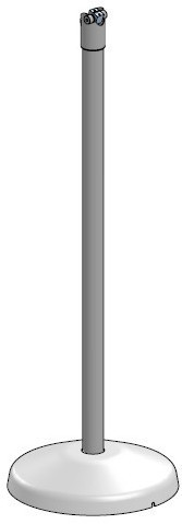 SpacePole FLOORSTAND WITH DURATILT