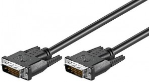 MicroConnect DVI-D 24+1-pin 2m M-M Black