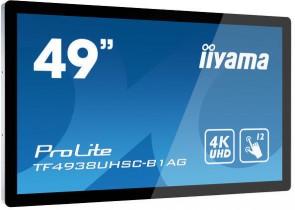 "Iiyama 49\"" PCAP, Bezel Free 12p touch"