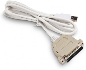Honeywell USB to Parallel Adapter DB-25