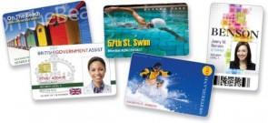 Zebra PVC, White Cards, 500 cards