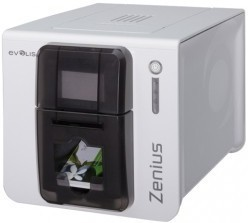 Evolis Zenius Classic, single sided