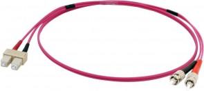 MicroConnect ST/UPC-SC/UPC 1m 50/125 OM4