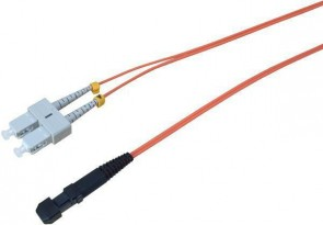 MicroConnect MTRJ/UPC-SC/UPC 1m 50/125 OM2