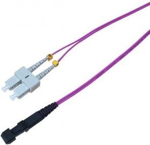 MicroConnect MTRJ/UPC-SC/UPC 0.5m 50/125
