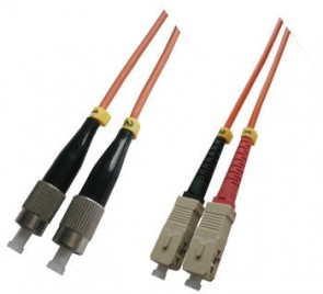 MicroConnect FC/UPC-SC/UPC 1M 62.5/125 OM1
