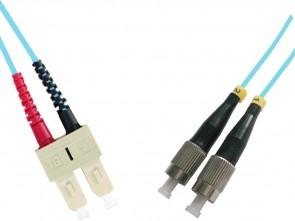 MicroConnect FC/UPC-SC/UPC 3M 50/125 OM3