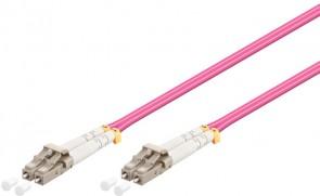 MicroConnect LC/UPC-LC/UPC 1.5M 50/125 OM4