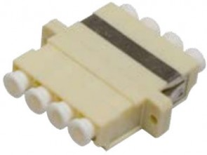 MicroConnect LC adapter MM Quad Beige
