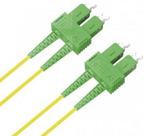 MicroConnect SC/APC-SC/APC 1m 9/125 OS2