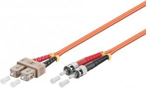 MicroConnect ST/UPC-SC/UPC 3m 62.5/125 OM1