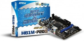 MSI H61M-P20 (G3) S1155 H61 mATX