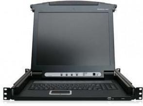 """IOGEAR 17\"""" LCD KVM Combo Console"""