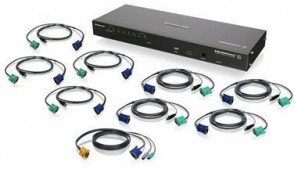 IOGEAR 8-Port IP Based KVMP Switch