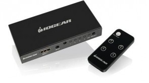 IOGEAR 4-Port 4K HDMI Switch