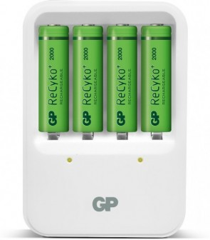 GP Batteries RECYKO CHARGER 420 White