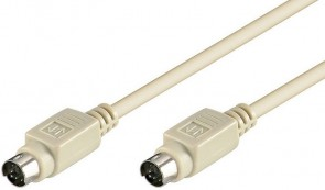 MicroConnect PS/2 Cable 2m MD6 M/M
