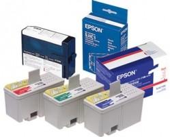 Epson ink cartridges, blue