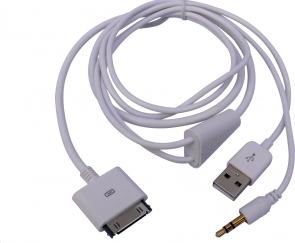 MicroConnect Charge\'n\'Play cable iPhone