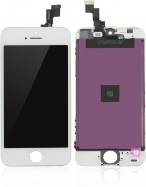 MicroSpareparts Mobile LCD for iPhone 5S White