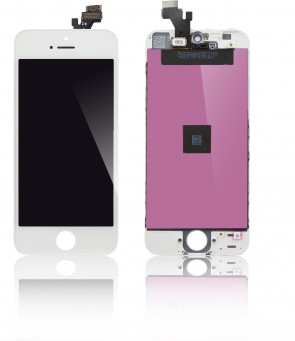 MicroSpareparts Mobile LCD for iPhone 5 White