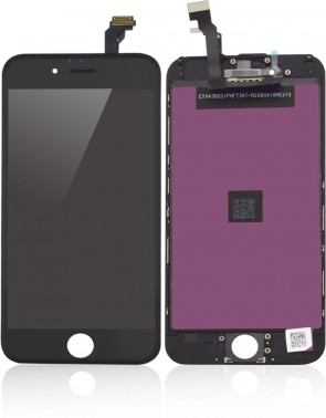 MicroSpareparts Mobile LCD for iPhone 6 Black