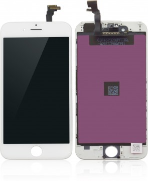 MicroSpareparts Mobile LCD for iPhone 6 White