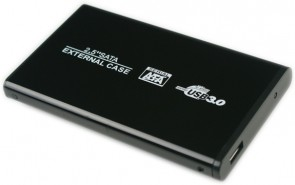 "MicroStorage 2.5"" USB3.0 Enclosure Black"