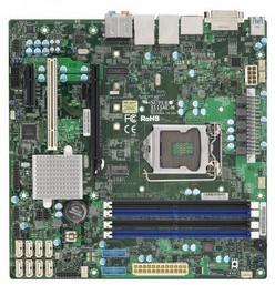 Supermicro X11SAE-M, Intel Xeon, E3-1200