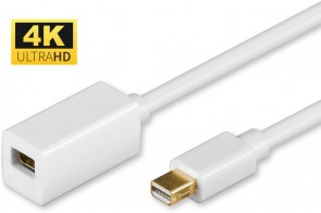 MicroConnect Mini Displayport Extension 1m