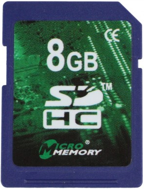 MicroMemory 8GB SDHC Class 10