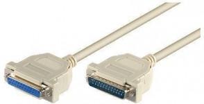 MicroConnect D-SUB DB25-D-SUB DB25 1.8m M/F