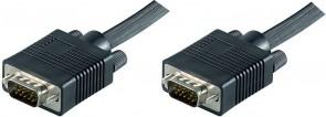 MicroConnect SVGA 0,8m Male - Male